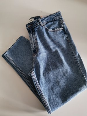Only 3/4-jeans blauw