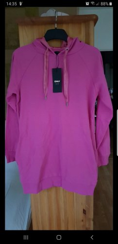 Be only Capuchon sweater roze