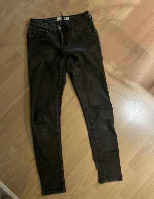 Only Jeggings nero-argento