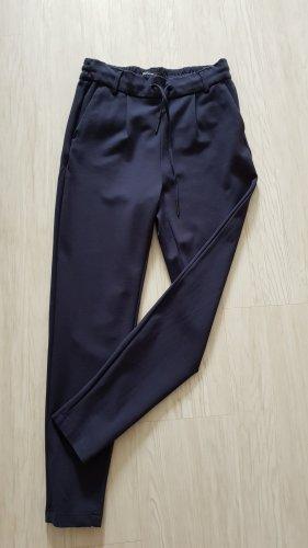 Only Pantalón de pinza azul oscuro