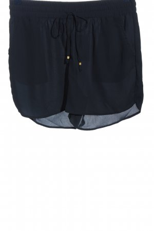 Only Hot pants blauw casual uitstraling