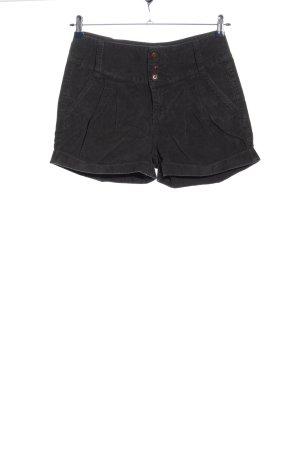 Only Hot Pants hellgrau Casual-Look