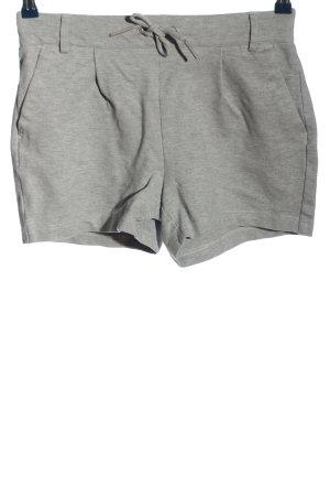 Only Hot Pants hellgrau meliert Casual-Look