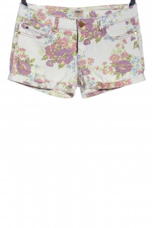 Only Hot Pants allover print casual look