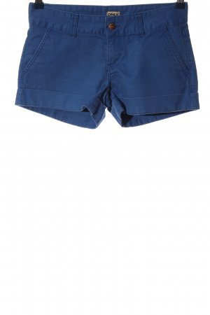Only Hot Pants blau Casual-Look