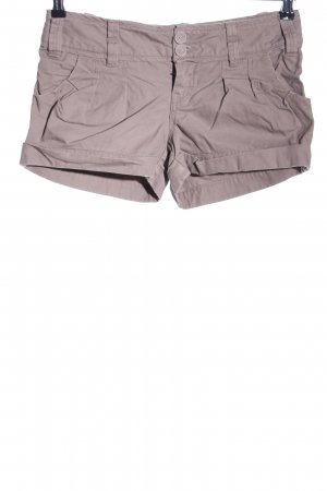 Only Short moulant brun coton