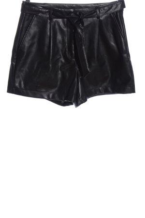Only Krótkie szorty czarny W stylu casual
