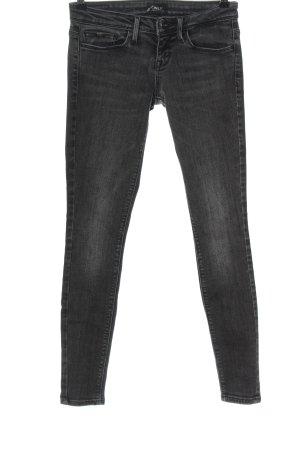 Only Pantalone a vita bassa grigio chiaro stile casual