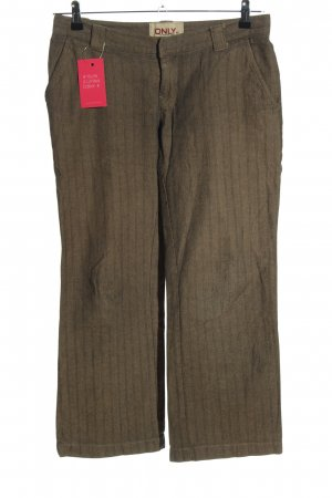Only Stoffhose khaki Allover-Druck Casual-Look