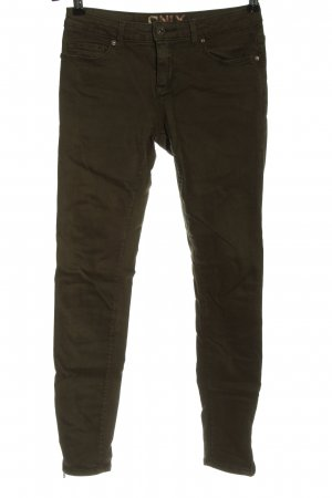 Only Low-Rise Trousers brown casual look