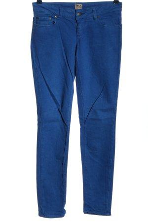 Only Hüfthose blau Casual-Look