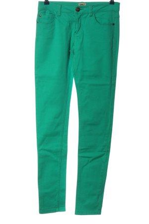 Only Hüfthose grün Casual-Look
