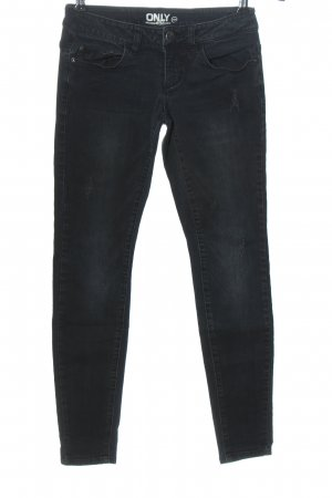 Only Low Rise Jeans black casual look