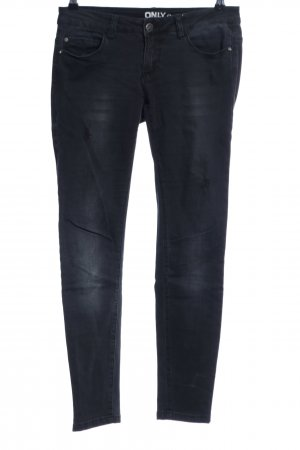 Only Low Rise jeans zwart casual uitstraling