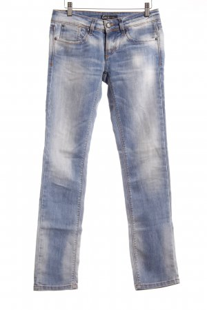 Only Hüftjeans hellblau Casual-Look