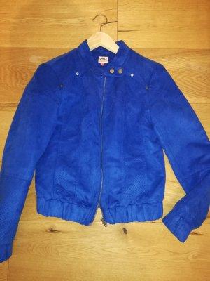 Only Veste chemise bleu