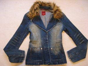 only jacke blazer jeansblazer fell krage vintage topzustand gr. s  36
