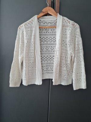 Only Boléro en tricot blanc