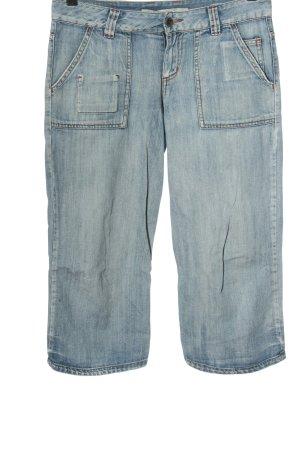 only jeans Jeans 3/4 bleu style décontracté