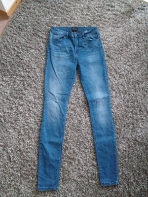 Only Hoge taille jeans azuur-staalblauw
