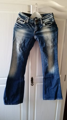 Only Jeans blau Boot Cut