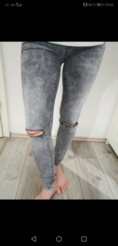 Only Tube Jeans light grey-grey