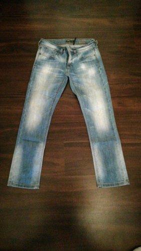 Only Jeansy z prostymi nogawkami jasnoniebieski