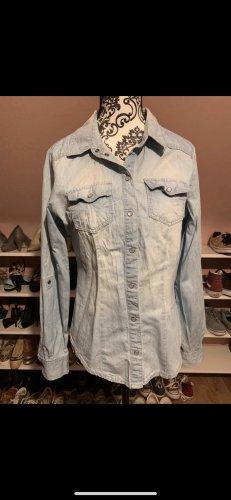 Only Jeans Hemd hellblau