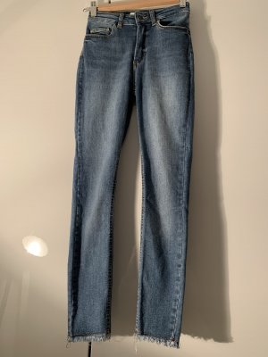 Only Hoge taille jeans blauw