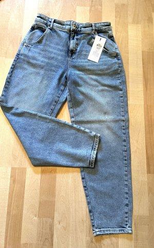 Only Jeans Hose Gr.S/L32 Troy Carott High Waist Ankle Stretch Neu
