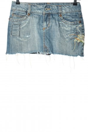 only jeans Jeansrock blau Casual-Look