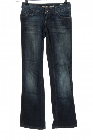 only jeans Jeansschlaghose blau Casual-Look