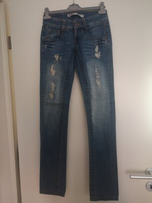 only jeans neuwertig 27 34 blau