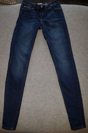 Only Jeans Sadie Skinny Slim xs/s 34/32 Dunkelblau