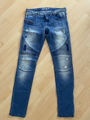 Only Jeans stretch bleu