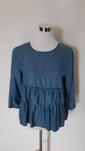 Only Jeans blouse blauw
