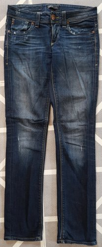 Only Jeans, W27 L32, Middle Blue, Slim Fit, used look / washed