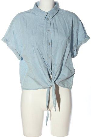 Only Blusa denim blu stile casual