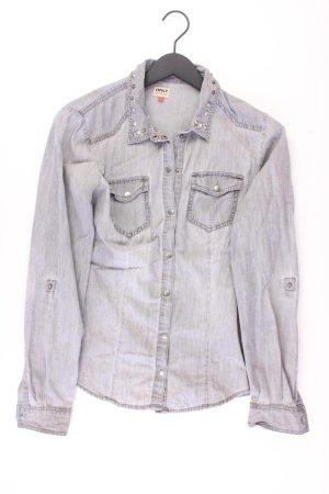 Only Bluzka jeansowa Wielokolorowy Bawełna