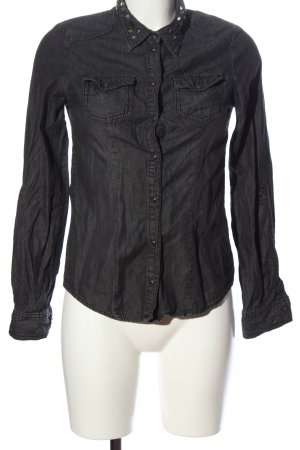 Only Jeanshemd schwarz Casual-Look