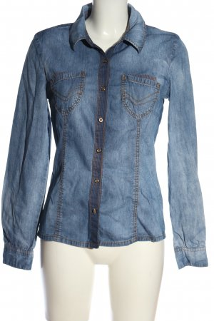 Only Jeanshemd blau Casual-Look