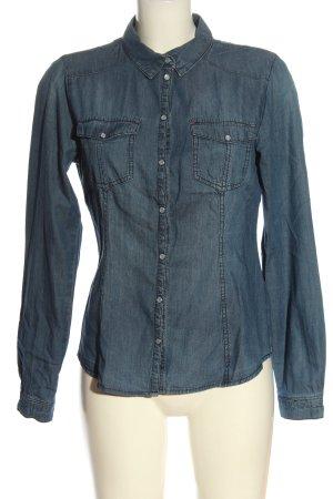 Only Jeansowa koszula niebieski W stylu casual