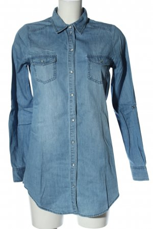 Only Denim Shirt blue casual look