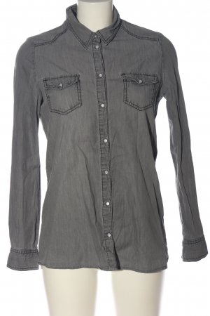 Only Denim Shirt light grey casual look