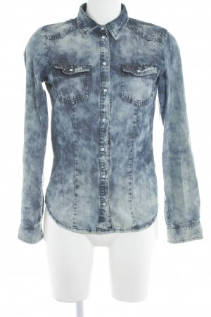 Only Jeanshemd Farbverlauf Casual-Look