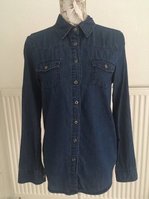 Only Jeanshemd Jeansbluse blau 36 S