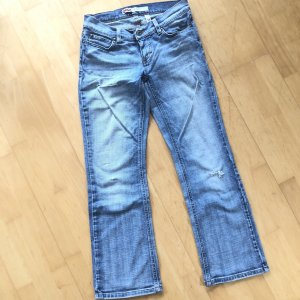 Only Jeanshose Gr 38/30 hellblau Jeans Hose bootcut ripped