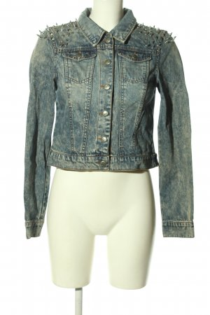 Only Jeansjacke blau meliert Casual-Look