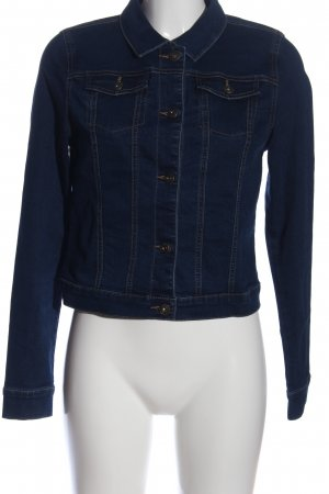 Only Jeansjacke blau Casual-Look
