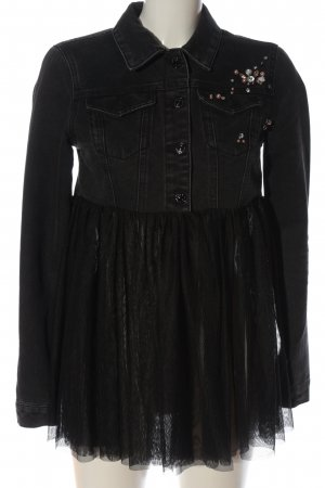 Only Veste en jean noir élégant